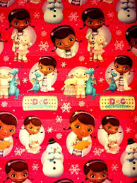 doc mcstuffins wrapping paper doc mcstuffins christmas wrapping paper festival collections