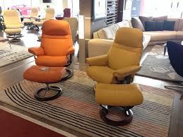 stressless canape 2 places cuir fauteuils stressless sunrise toulon mobilier de france