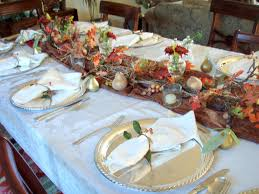 Thanksgiving Dinner Table Decorations Thanksgiving Table Decorations For With Candles Pinterest