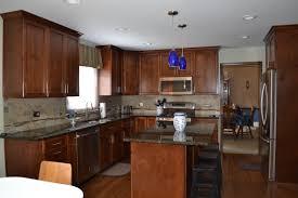 nice color combinations of uba tuba countertops dark cabinets