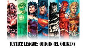 imagenes animadas de justicia gratis justice league origin el origen cómic en español youtube