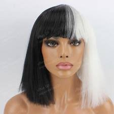 Chandelier Singer Chandy Wig White Sia Chandelier Singer Hair Covers Costume