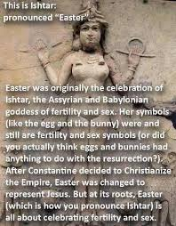 Anti Religion Memes - the ishtar easter meme and pagan anti semitism everyday magic