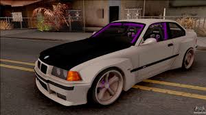 bmw m3 stanced bmw m3 e36 for gta san andreas