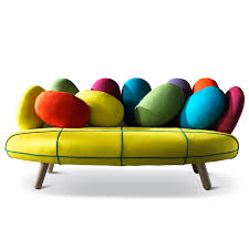 2p sofa by adrenalina colourful design funky lounge furniture at