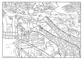 zoo coloring pages preschool zoo coloring pages free download coloring pages www