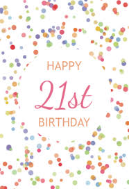 free printable 21st birthday cards greetings island