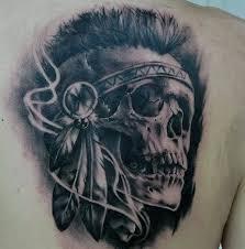 wonderful indian skull tattoos parryz com