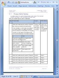 Process Map Template Excel Business Process Design Templates Ms Word Excel Visio