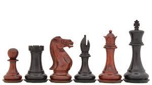 buy quality chess set in red bud rose u0026 ebony wood online
