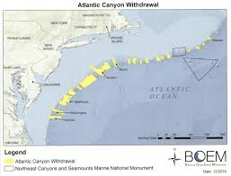 Atlantic Coast Map Obama U0027s Permanent Atlantic Drilling Ban Excludes Most Of The