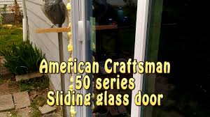 American Craftsman Patio Door American Craftsman 50 Series 300 Sliding Glass Door