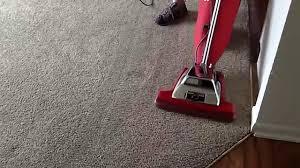 vacuum the carpet carpet cleaning part 1 sanitaire sc899f pre vacuums living room
