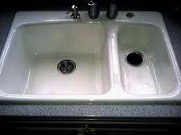 Great Kitchen Sinks Kitchen Sink Refinishing Porcelain Home Designs