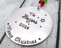 custom family ornament etsy