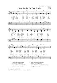 Songs With Blind In The Title Blest Be The Tie That Binds Hymnary Org