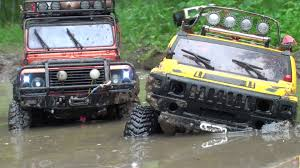 jeep land rover watch as the rc hummer h2 land rover defender and jeep wrangler