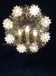 lighted tree topper 9 silver tree topper with and lighted candles yonder
