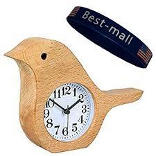 Wood Desk Clock Gorgeous Hand Made Silent Wooden Alarm Clocks Colour My Living