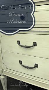Painting Black Furniture White by Chalk Paint Makeover Dresser Into Tv Stand Loveland Lodge