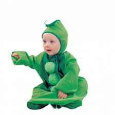 Newborn Bunting Halloween Costumes Uw 26951 Childs Costume Style 26951 Pea Pod Plush Bunting