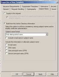 auto enrollment of user certificate in active directory