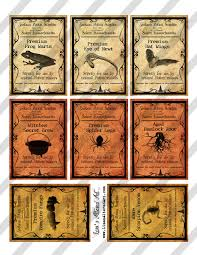 halloween apothecary jar labels funny vintage halloween apothecary labels set 03 vector