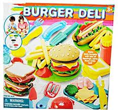 pate a modeler cuisine coffret pate a modeler burger hamburger 26 pcs 5 couleurs moules acs