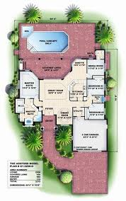florida house plans with pool florida house plans unique florida style house plans plan 82 102