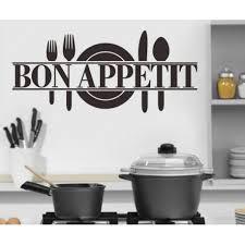 stickers cuisine texte stickers cuisine texte bon appetit et assiette ile aux stickers