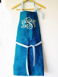 wedding registry for men monogram burlap apron custom women men kids aprons kitchen apron