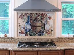 tile murals for kitchen backsplash tile murals for kitchens home ideas
