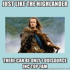 There Can Only Be One Meme - highlander there can be only one meme generator