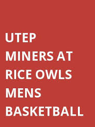 utep miners at rice owls mens basketball tickets mar 1 2018