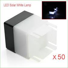 Solar Lantern Lights Costco - lighting solar fence post lights costco 50pcs led solar powered
