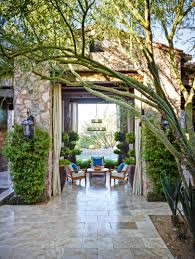 homes with interior courtyards alfresco living spaces with a mediterranean flair traditional home