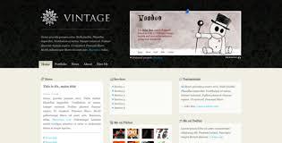 26 beautiful retro website templates web u0026 graphic design bashooka