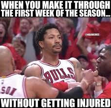Derrick Rose Injury Meme - derrick rose made it http nbafunnymeme com nba funny memes