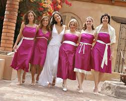 fuschia bridesmaid dress beautiful fuschia bridesmaid dresses