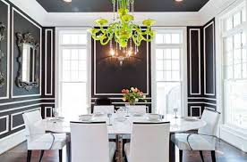 black and white dining room ideas how to create stunning interior design in black n white 100 plus