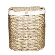 laundry separator hamper decor u0026 tips woven laundry basket for laundry sorter hamper and