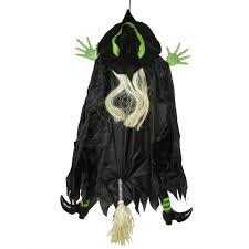Halloween Decorations Canada Online 4 5 U0027 Humorous Crashing Witch Hanging Halloween Decoration
