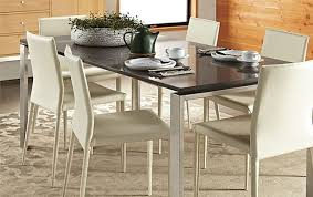 stainless steel dining room tables charming rand dining table stainless steel by r b modern room at
