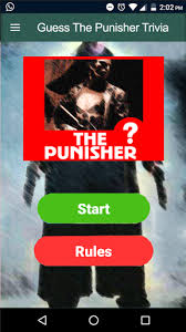the punisher apk guess the punisher trivia quiz 1 0 apk android 4 0 x