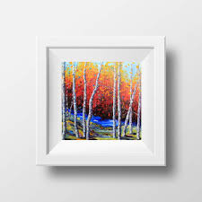 make the best of things tree painting love what a challenge to