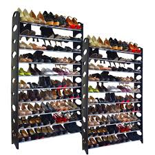 20 tier shoe rack 100 pair wall bench shelf closet organizer