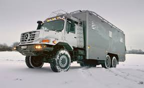 survival truck zetros zetros golly ultra luxury mercedes benz 6 6 rvs tackle