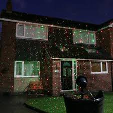 light projector for house christmas laser light projector with remote red and green leds