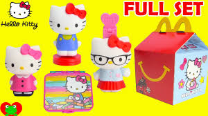2015 mcdonalds happy meal toys kitty
