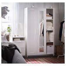 Home Door Design Catalog Ikea Brimnes Wardrobe With 3 Doors White Ikea